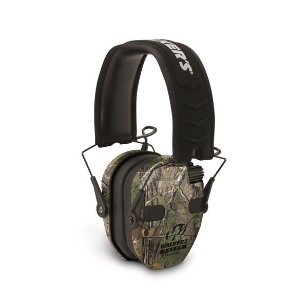 Protector auditivo Cascos de tiro electrónicos  Razor Slim Walker´s Realtree